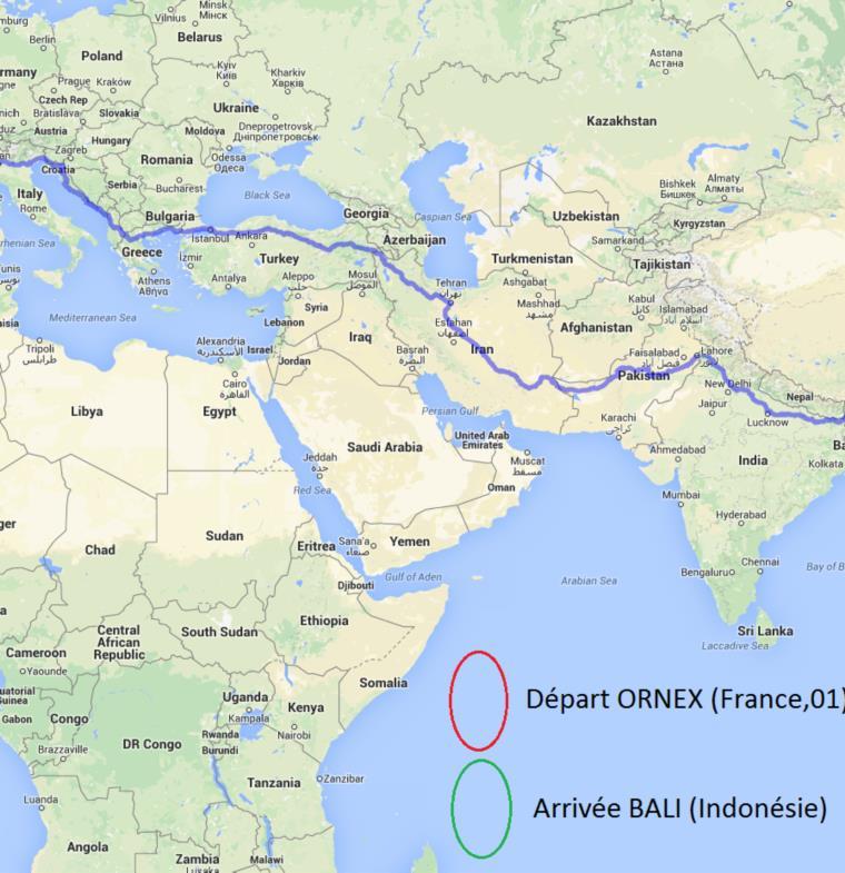 هذا هو أطول ممشى على الأرض .. يبدأ من الصين وينتهي بليبيريا