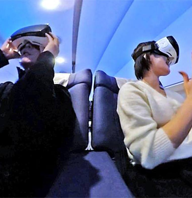 طائرة يابانية تقوم برحلات سياحة افتراضية حول العالم