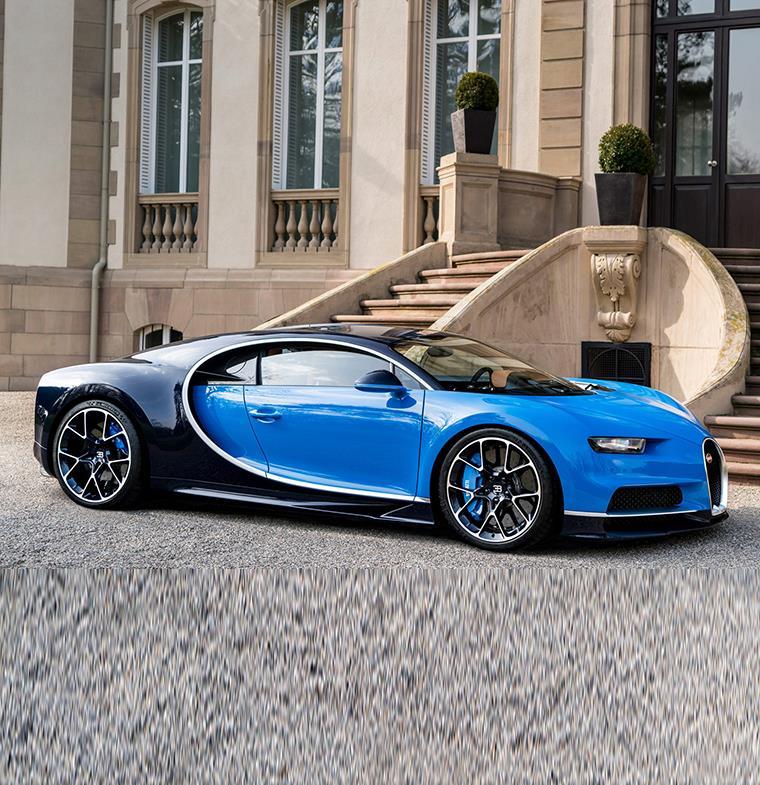بوجاتي تعكف على تصنيع سيارة خارقة يبلغ ثمنها 6 ملايين دولار