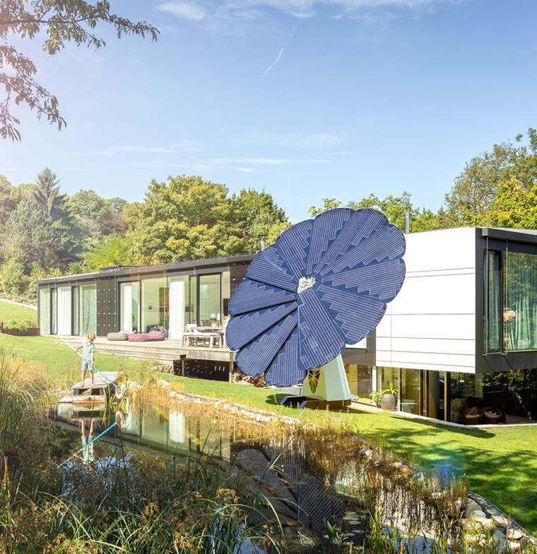 """نظام """"الزهرة"""" للطاقة الشمسية... فعالية أكبر من الأنظمة التقليدية"""