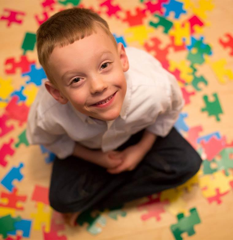 لعبة ذكية مخصصة للأطفال المصابين بالتوحد