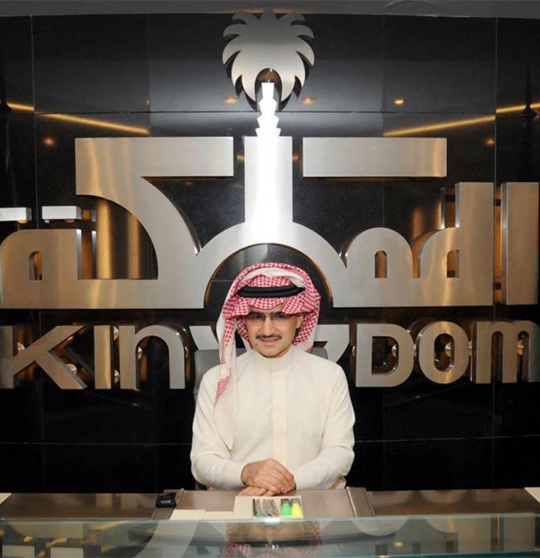 """""""المملكة القابضة"""" تشتري أسهم الوليد بن طلال في """"ليفت"""" بـ846 مليون ريال سعودي"""