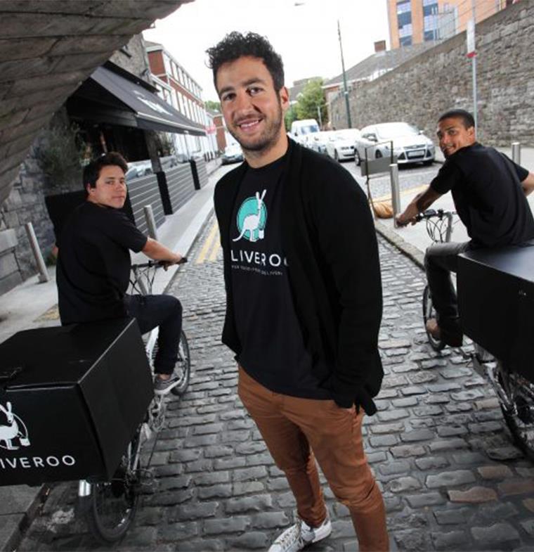 أنيس حرب مؤسس منصة Deliveroo لتوصيل طلبات المطاعم: حلول شركتنا عديدة
