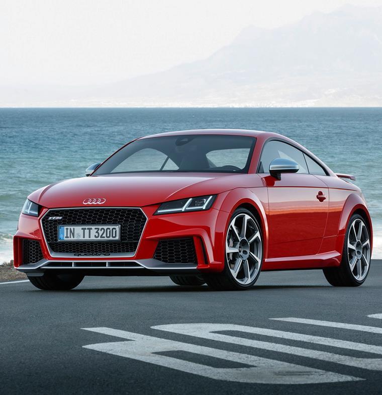 Audi TT RS: أكثر السيارات الرياضية استقطابا في السوق