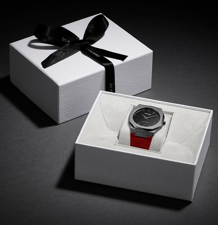 احتفل بعيد الحبّ برقيّ مع ساعة مميّزة من D1 MILANO