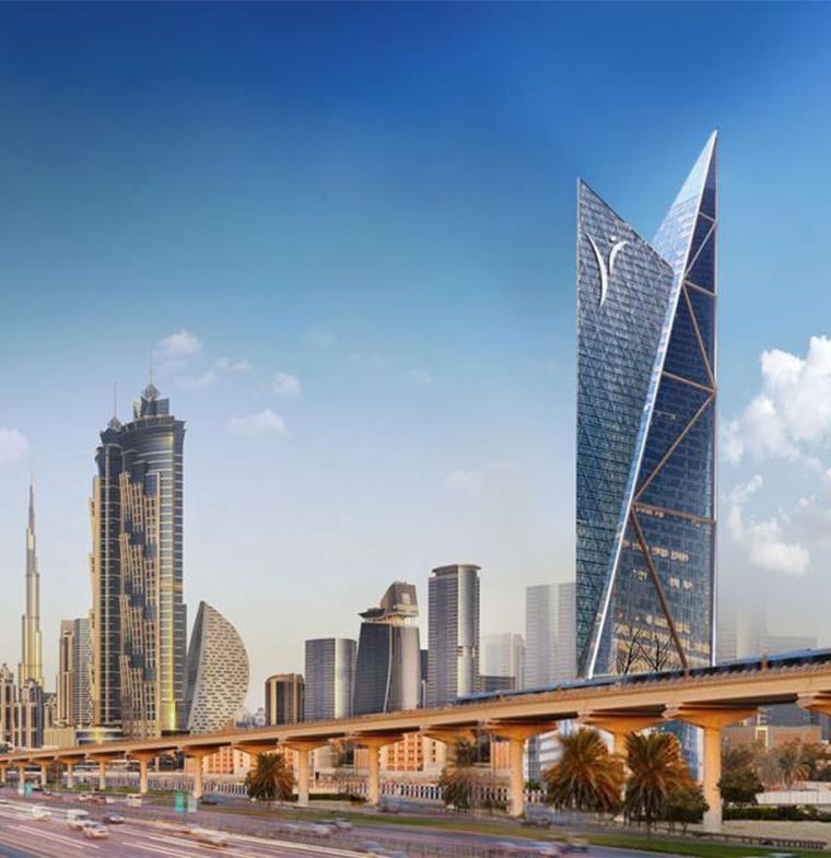ناطحة سحاب عزيزي تحتل الترتيب الخامس بين أعلى مباني العالم