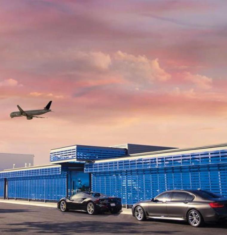 في مطار لوس أنجلوس الدولي: أجنحة فندقية فاخرة لكبار الزوار