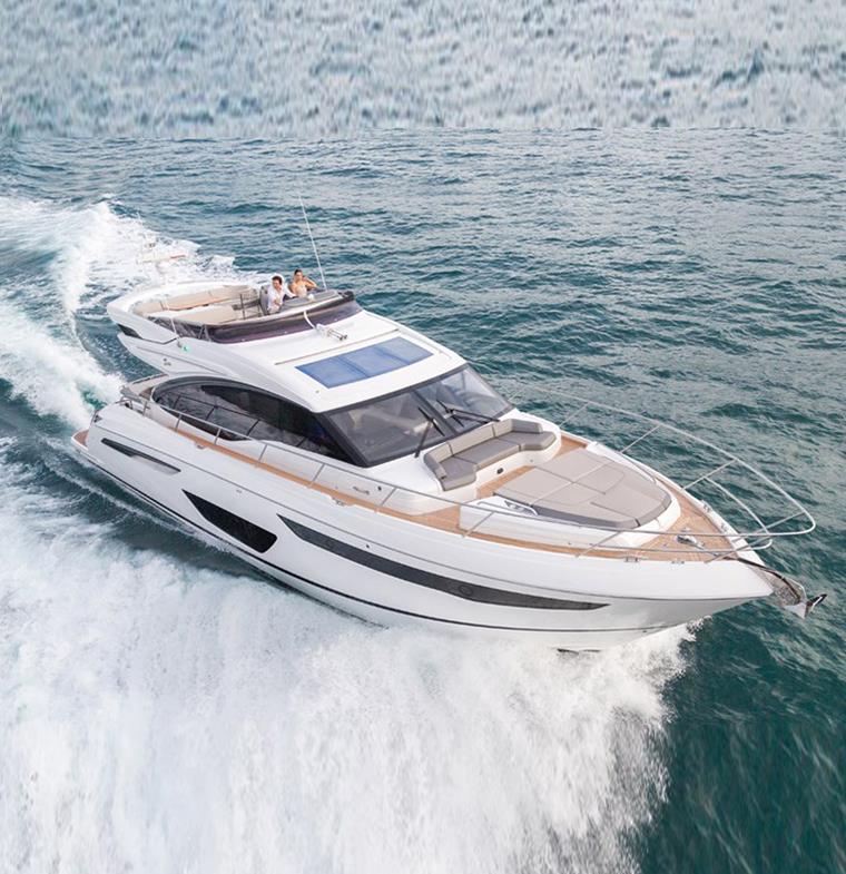 Princess Yachts تتلقى طلبات تجاوزت قيمتها المليار دولار