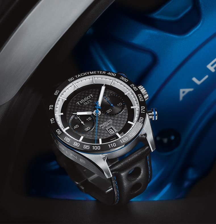 احتفاء بشراكة رياضية تاريخية... تيسوت تصدر ساعة Tissot PRS 516 Alpine المحدودة