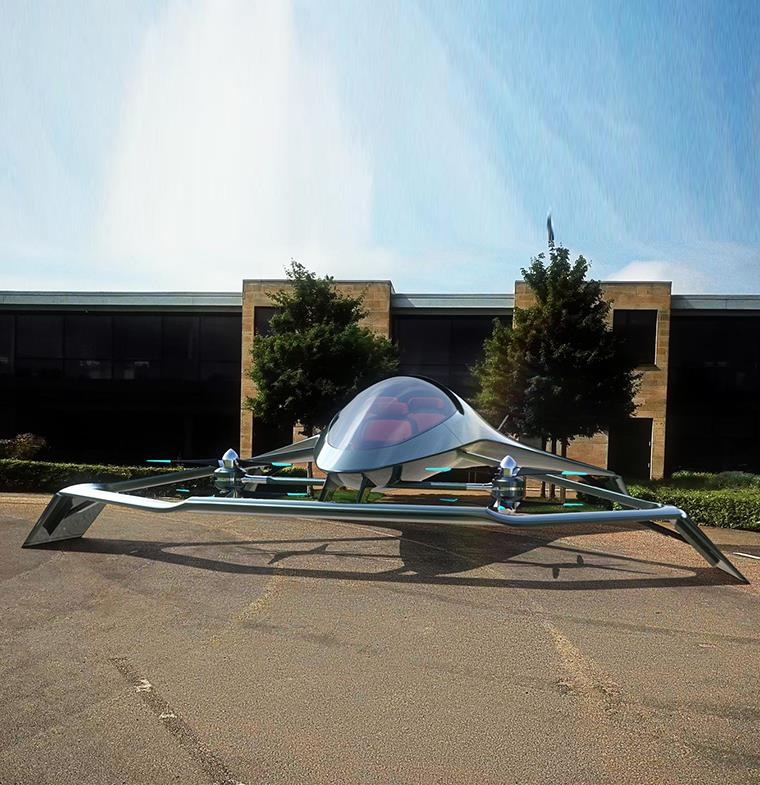 Aston Martin تبتكر مفهوماً جديداً في مجال النقل الجوي: Volante Vision Concept يستكشف أنماط التنقل الشخصية الفاخرة عبر الجو