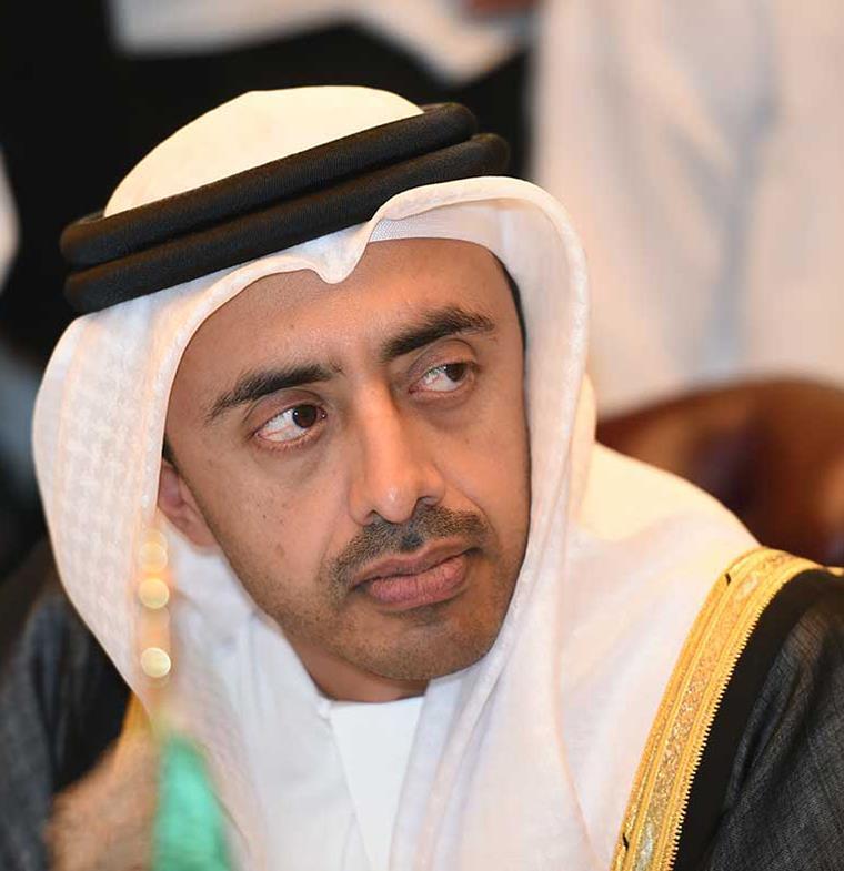 عبد الله بن زايد يقود مسيرة التسامح في أبوظبي