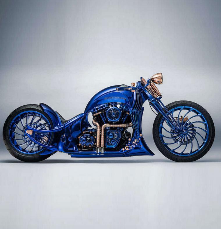 نظرة على أغلى دراجات Harley Davidson البخارية في العالم