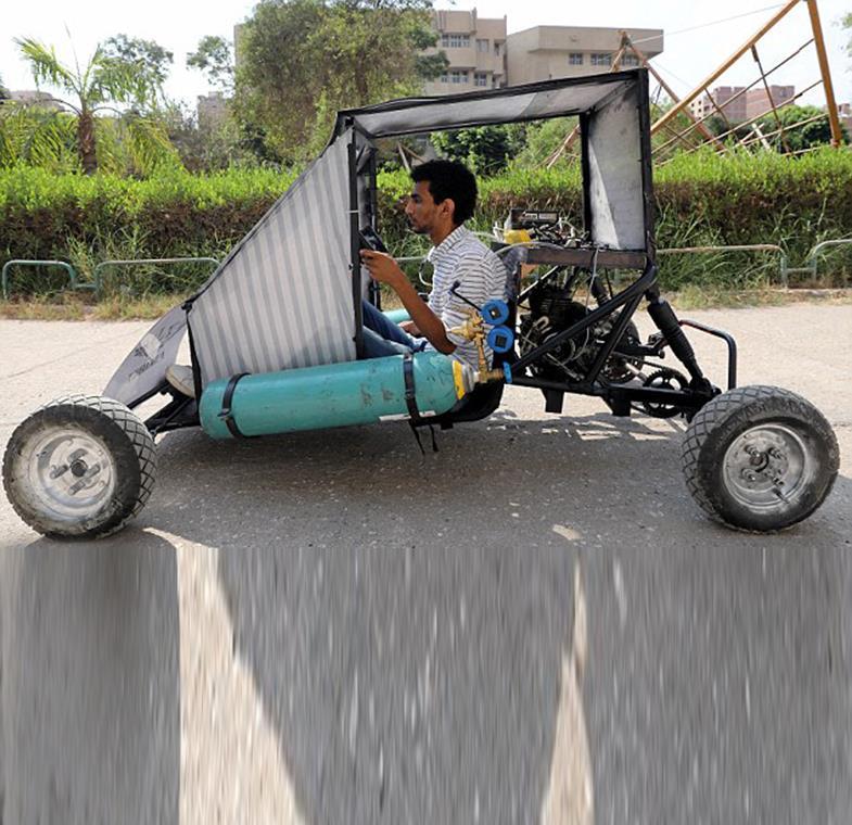 مصر: اختراع سيارة تعمل بالهواء المضغوط وهذه هي التفاصيل