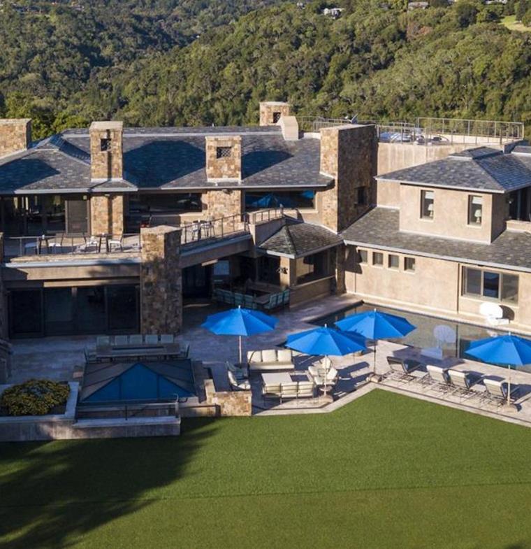 نظرة على المنزل ذي الـ100 مليون دولار في وادي السيلكون