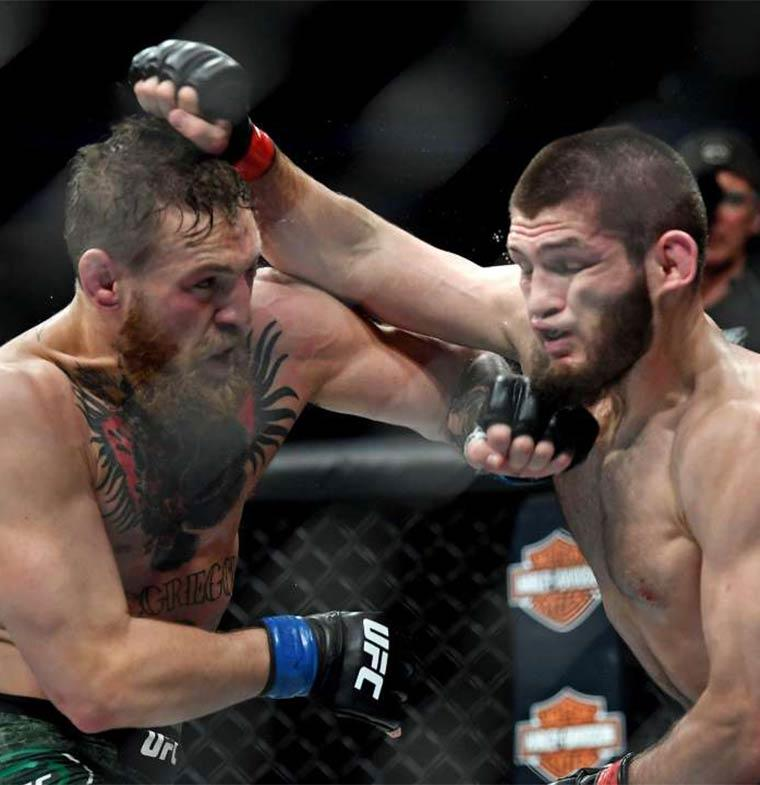 كونور مكجريجور يتحدى حبيب نورماجوميدوف في بطولة القتال النهائي 229