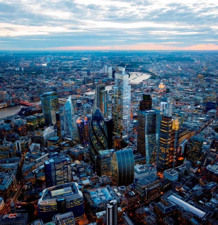 مدينة الضباب تشهد تحولات جديدة... 9 ناطحات سحاب ستغير أفق لندن بحلول 2020