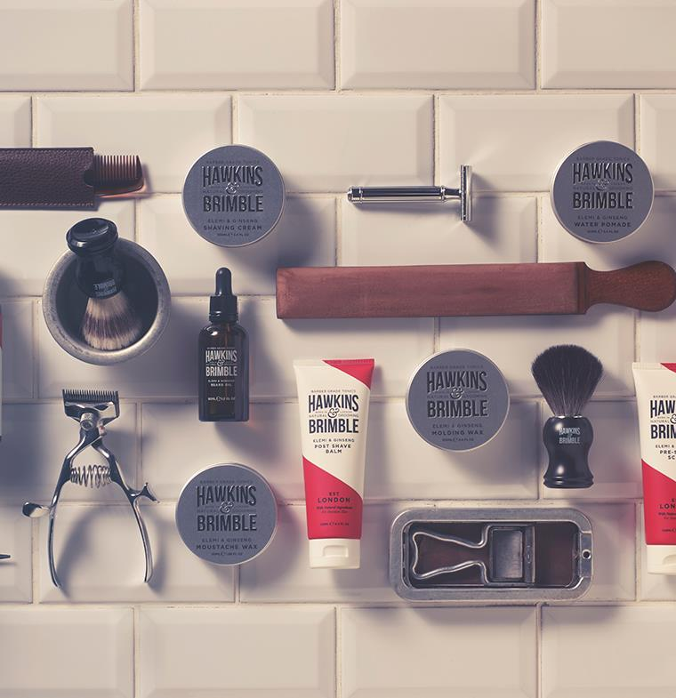 إطلاق منتجات هوكينز آند بريمبل  للعناية بالرجل... منتجات مستوحاة من تقاليد الماضي