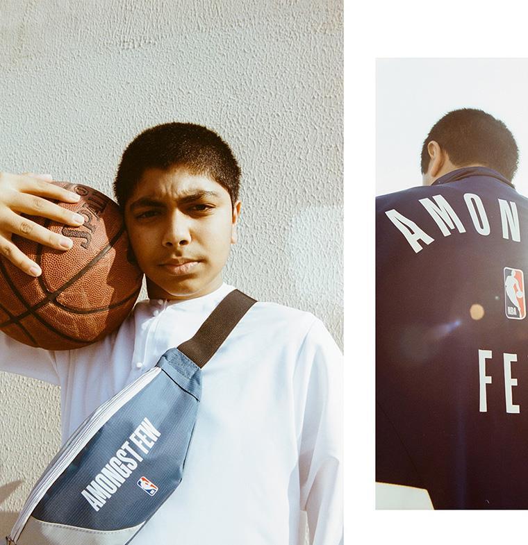 """تعاون فريد بين """"أمونجست فيو"""" الإماراتية وNBA... 7 قطع محدودة يمكن ارتداؤها خارج الصالات الرياضية"""