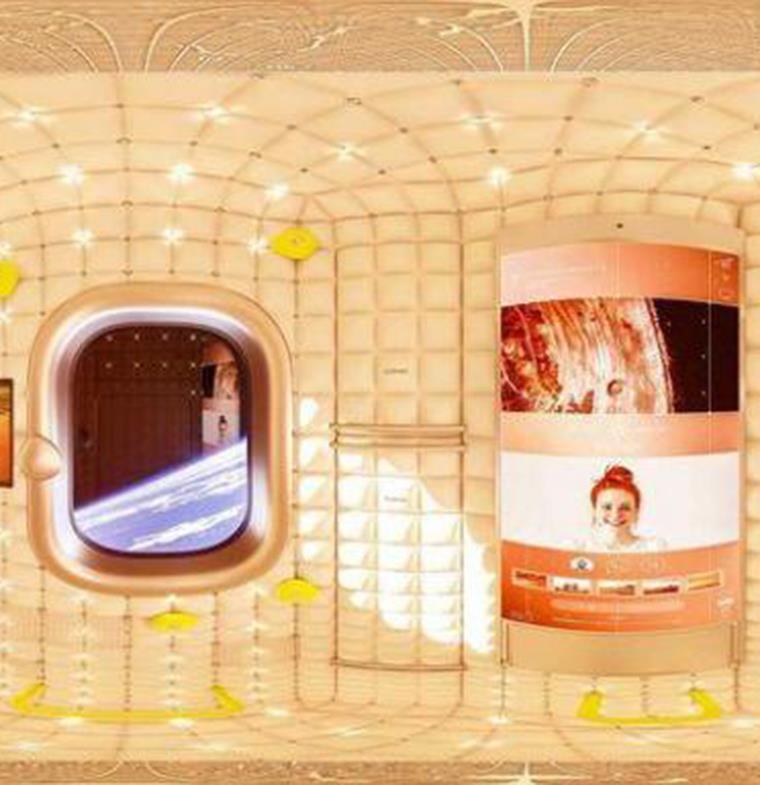 هذا هو شكل المحطة الفضائية التي صممها المصمم الشهير فيليب ستارك