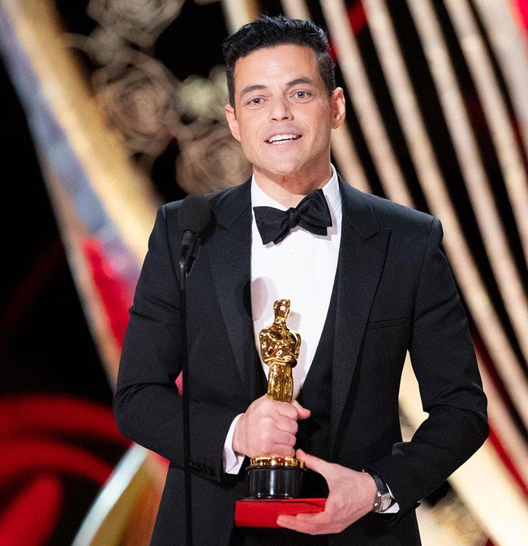 رامي مالك يحصد جائزة الأوسكار كأفضل ممثل