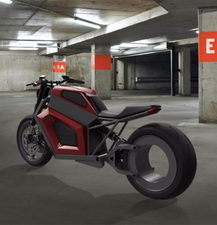 أول دراجة بقدرة 50 كيلو وات ... هل هذا هو النموذج الذي تنتظره تسلا؟