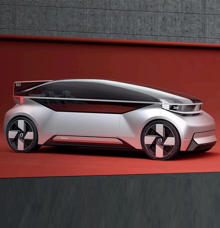 سيارة آلية تتحول لسرير ومكتب ... كل ما علمناه عن نموذج فولفو الجديد