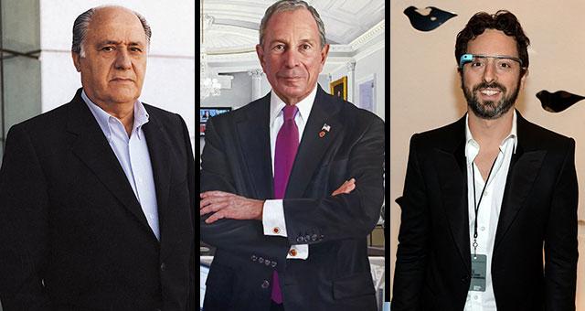 مليارديرات جمعوا ثرواتهم بعد جهد ... تعرف اليهم
