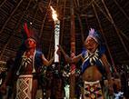 بالصور... الشعلة الأولمبية تجوب البرازيل استعدادا لأولمبياد الريو