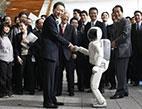 """الروبوت """"أسيمو"""" أقرب الروبوتات إلى البشر"""